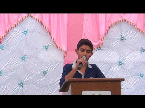 रघुनाथ विद्यालय का विदाई भाषण । ख्याली ने किस तरह से किया गुरू का समान , सुनिए एक जोश भरी आवाज मे।