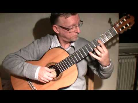 J. S. Bach: Arioso BWV 156 Classical guitar played by Per-Olov Kindgren