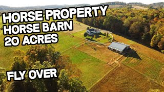 Horse Property in Kentucky, Multi generational house, Horse barn, Multi-generational living
