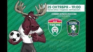 FK Tosno vs Tom Tomsk full match