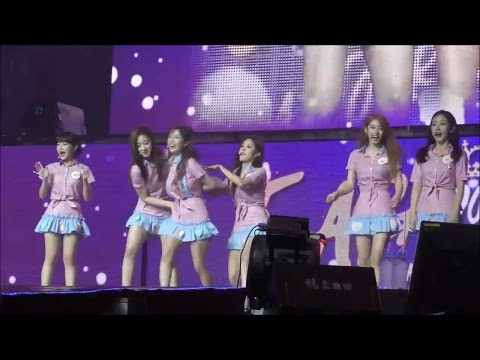 T-ARA QRI Sexy Dance Never Ever Shanghai 160917 [soft] Eng Subs