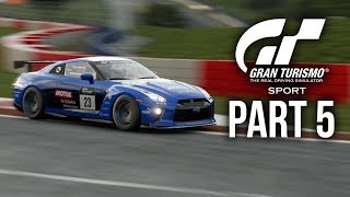 GRAN TURISMO SPORT Gameplay Walkthrough Part 5 DRIVING SCHOOL 33-40 GOLD INTERMEDIATE (Full Game)