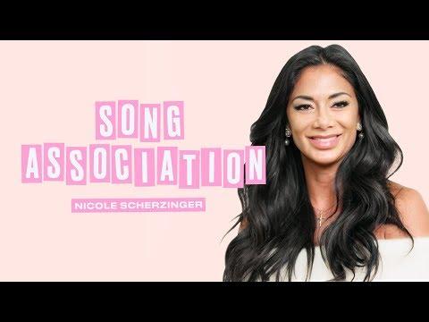 Nicole Scherzinger Sings Whitney Houston, Beyoncé, and Britney Spears | Song Association | ELLE