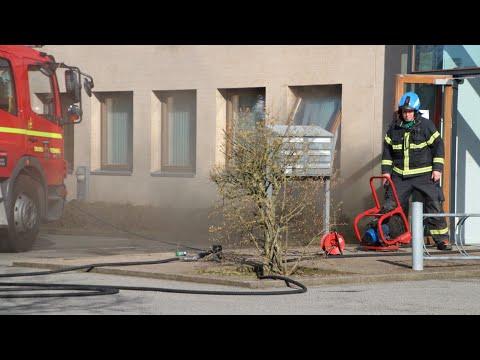26.04.21 Brand i industribygning på Japanvej i Slagelse