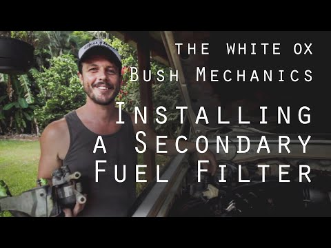 Installing a Secondary Fuel Filter - Toyota Land Cruiser Troopy HZJ75