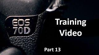 EOS 70D Training Part 13 Autofocus