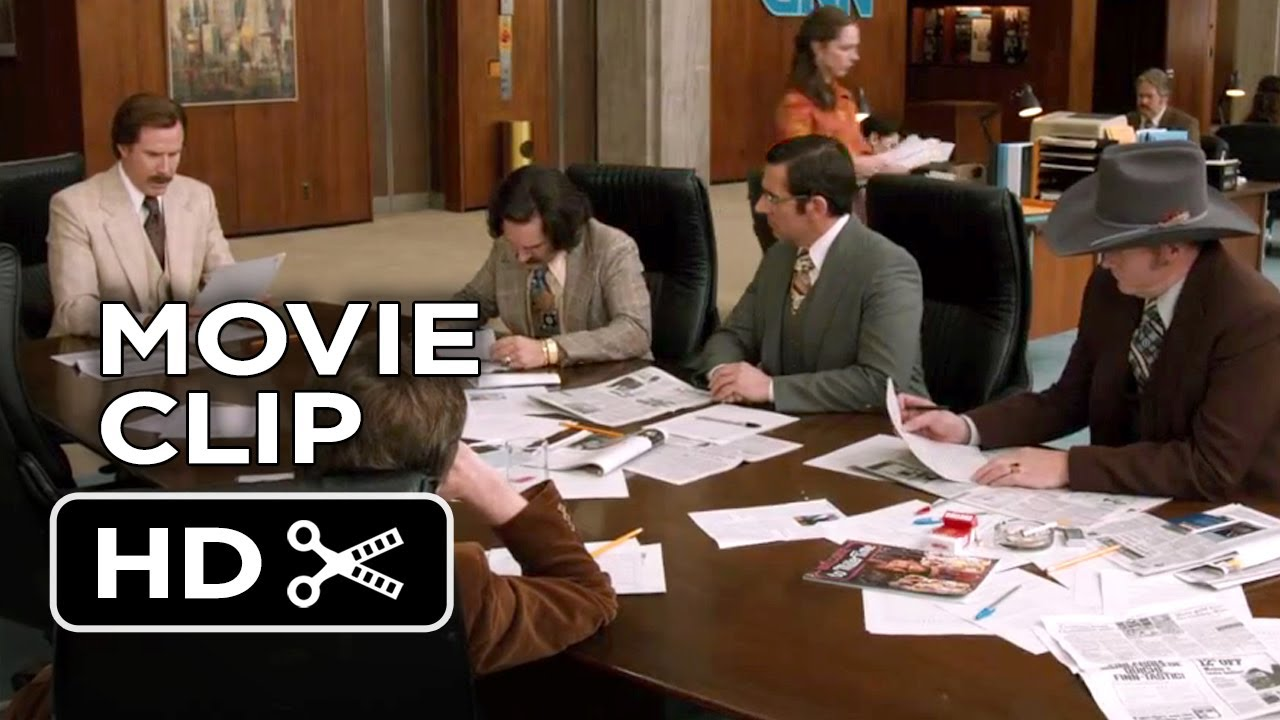 Download Anchorman 2: The Legend Continues Movie CLIP - News Ideas (2013) - Will Ferrell HD