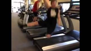 Treadmill fall 21