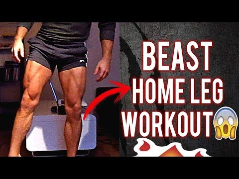Day 1😈أحسن برنامج منزلي لتمارين الأرجل بالكامل 😱 ☠The Best Program 💪For legs At Home