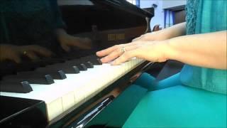 ao orarmos senhor vencedores por cristo piano e voz