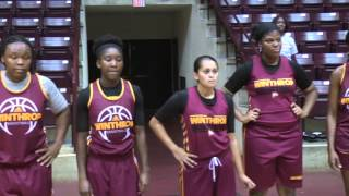 W1nthrop Women Hit The Hardwood