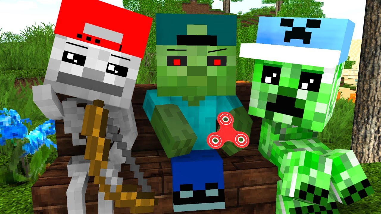 Mob Kids Life - Craftronix Minecraft Animation - YouTube