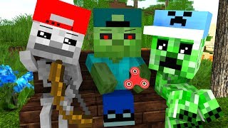 Mob Kids Life Craftronix Minecraft Animation