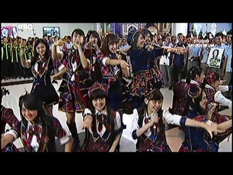 JKT48 - Kibouteki Refrain @ Fesbukers ANTV [15.06.11]