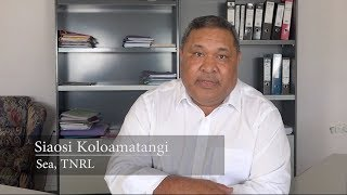 Siaosi Koloamatangi - Chairman Tonga National Rugby League (TNRL)