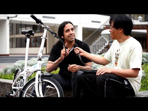 Octavio Zegarra, presidente de Cicloaxión (la agrupación de ciclismo urbano más grande de Perú)