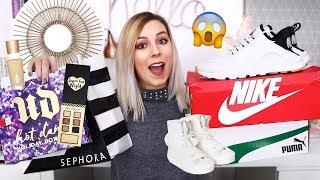 HAUL SOLDES HIVER 2018 / Nike, Sephora, Déco, Etam, Puma...