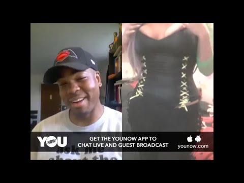 YouNow Broadcast #15 FACE OR BODY?!!