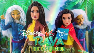 Unbox Daily: ALL NEW Raya and the Last Dragon Disney Store VS Hasbro + DIY