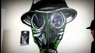 D.S Studios Graffiti Painting by Armando Rosete