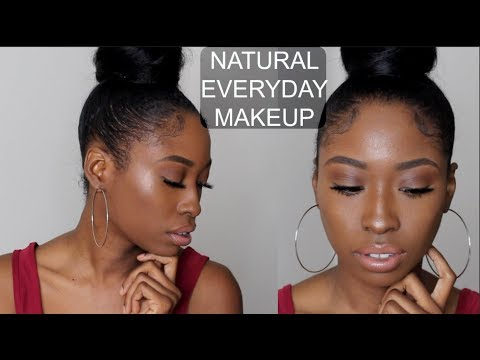 NATURAL Everyday Drugstore Makeup Tutorial