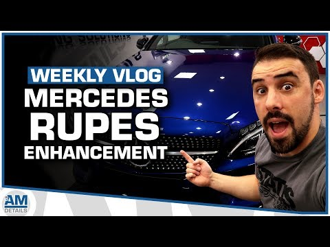 Mercedes C Class - Rupes Machine Polishing - AMDetails Detailing