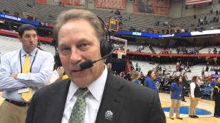 Michigan State coach Tom Izzo talks about East Region MVP Travis Trice