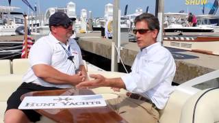 Hunt Yachts at the 2015 Great Lakes Boating Festival