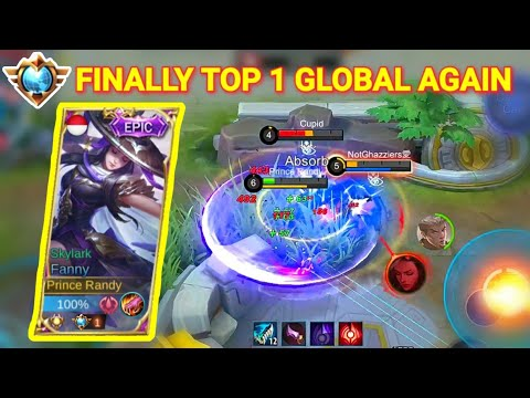 THIS IS MY ERA?? TOP 1 GLOBAL FANNY RANDY25   Mobile Legends