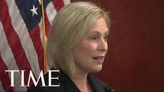 Senator Kirsten Gillibrand Responds To Trump