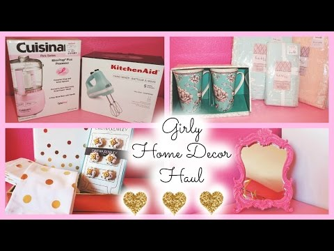 Home Decor Haul Part 2 ♡ HomeGoods, TJ Maxx, Marshall's, Target, Hobby Lobby, & Michael's