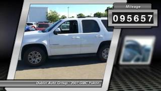 2007 GMC Yukon for sale in Dublin, CA - Dublin Chevrolet, Cadillac, Buick, GMC and Kia 874