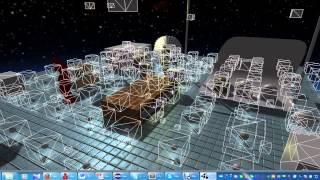 #10 Java 3D遊戲開發紀錄影片 - 模型載入優化、Frustum Culling和事件觸發