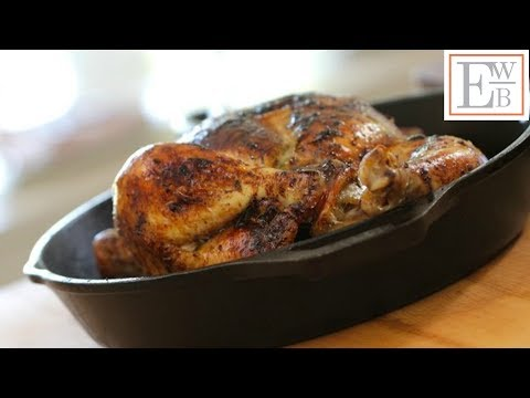 Beth's Cast Iron Skillet Roast Chicken Recipe | ENTERTAINING WITH BETH