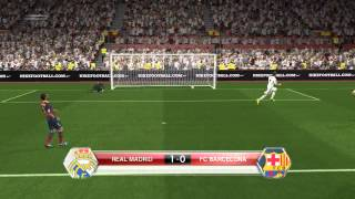 PES 2014 Real vs Barcelona Full Match
