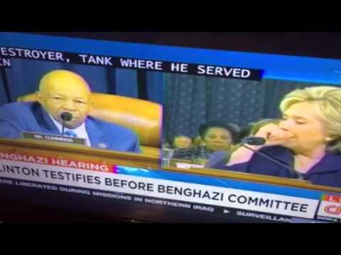 Hillary Clinton Chokes-Up Over GOP BS At #BenghaziCommittee - Zennie62