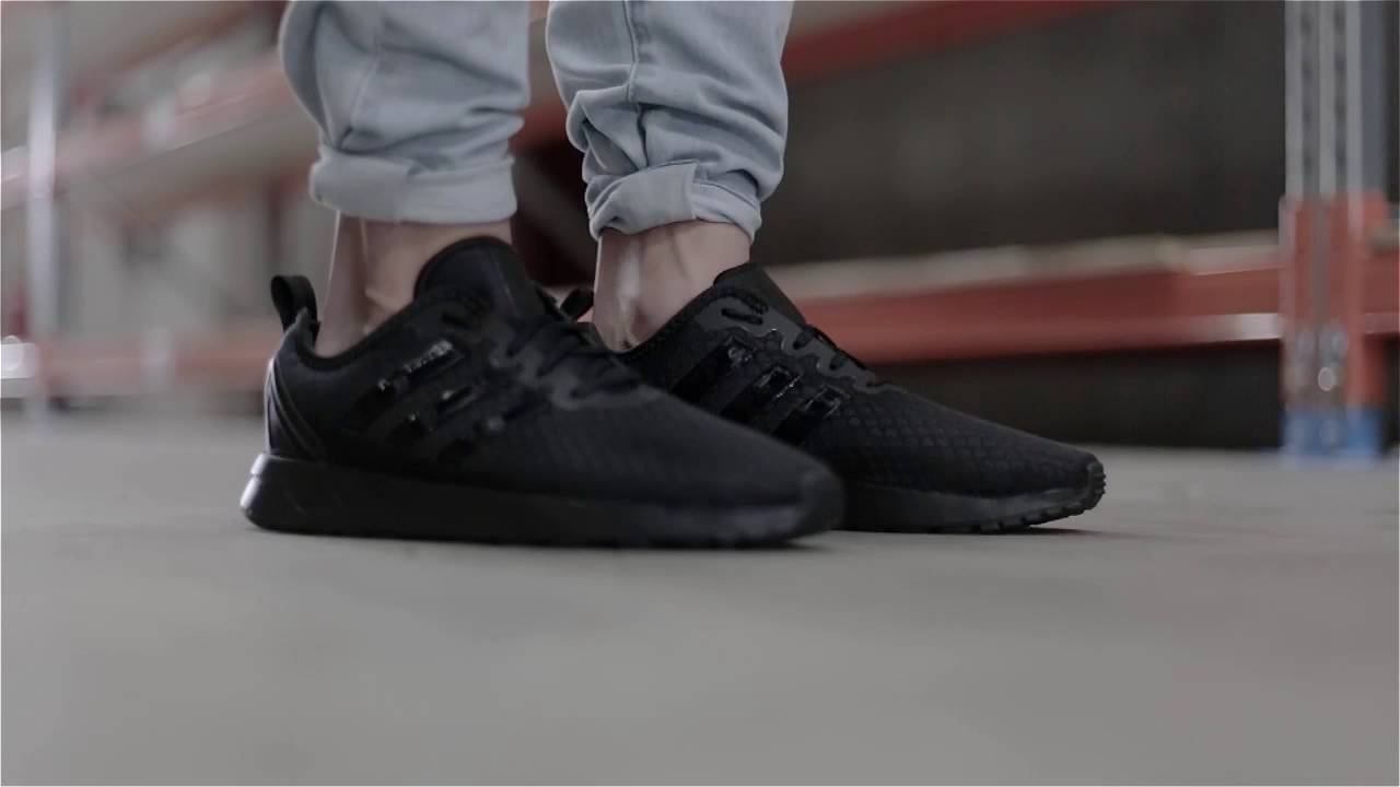 Adidas Zx Flux Adv Asymmetrical Black smithsestates.co.uk