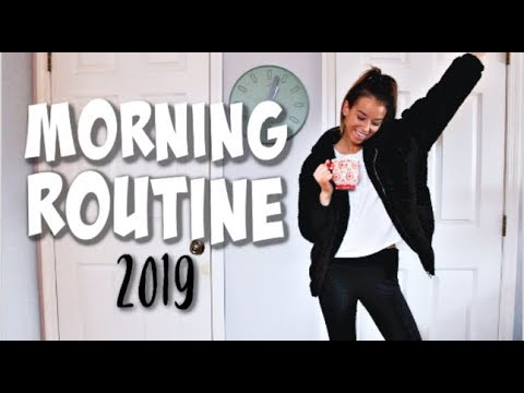MORNING ROUTINE 2019 | Healthy & Productive