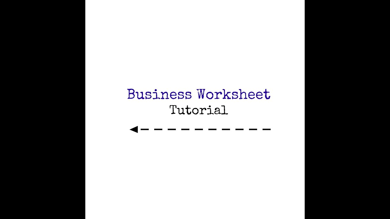 Young Living Business Builder Worksheet Tutorial