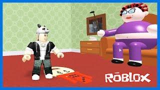 Büyükannenin Evinden Çıkmaya Çalışıyoruz! Roblox Grandmas House Obby