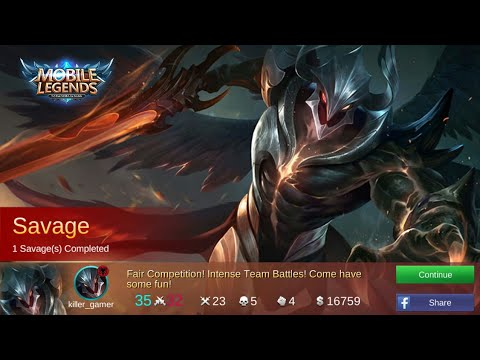 mobile legends:ARGUS SAVAGE!!
