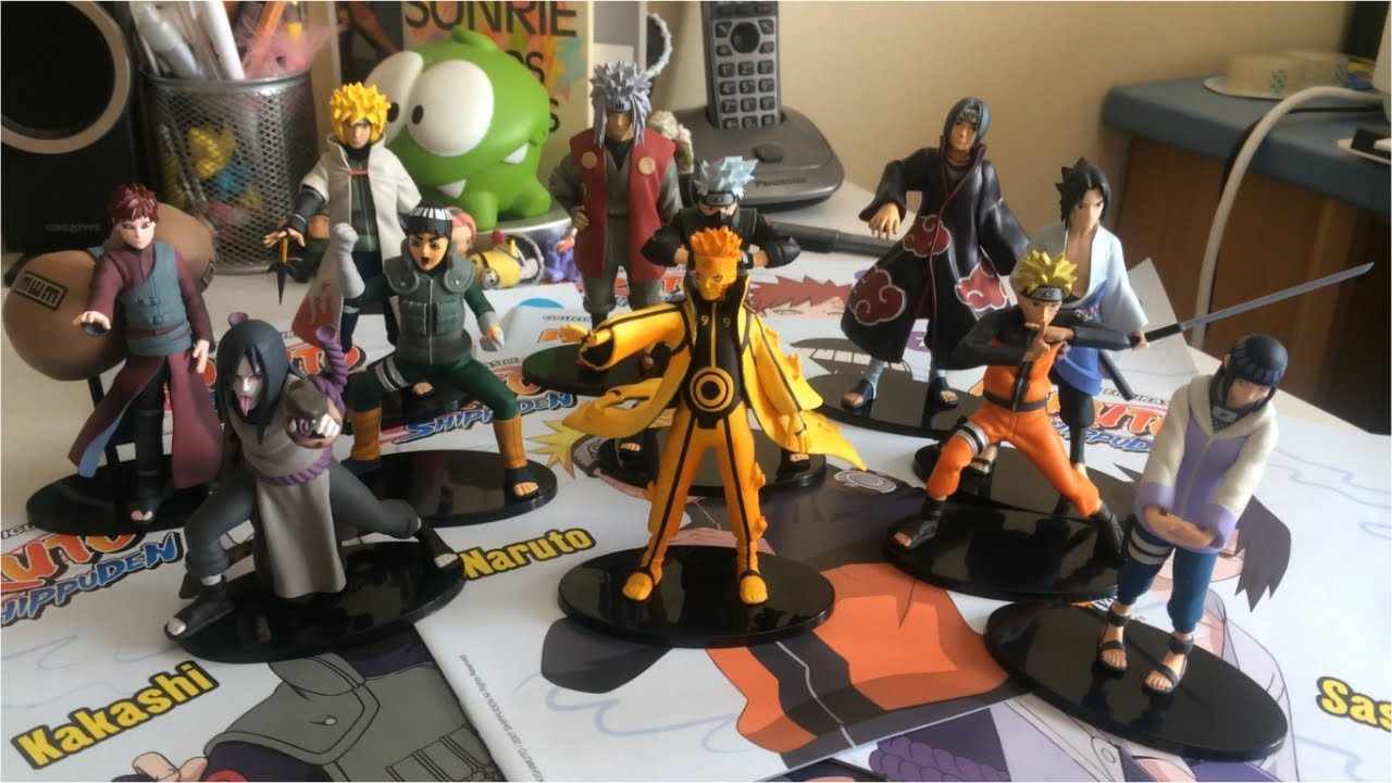 Unboxing figuras de naruto 1 youtube for Figuras naruto altaya