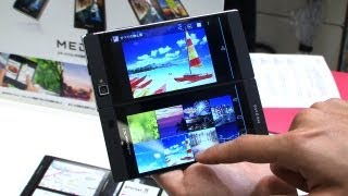 MEDIAS W dual-screen Android smartphone #DigInfo