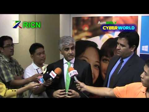 AumDAILY CYBERWORLD News : New Managing Director Microsoft Thailand Interview TV 2013