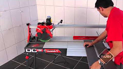 RUBI DC 250 1200 Wet Bridge Tile Saw