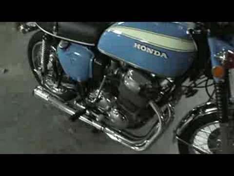 Honda CB750 Singapore - YouTube