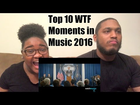 Download Top 10 WTF Moments in Music 2016-REACTION  VIDEO