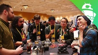 CES 2017 Podcast 1 (with many guests!)