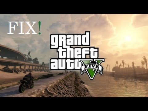 GTA V has stopped working,crash,black screen,freeze Fix WORKING100%