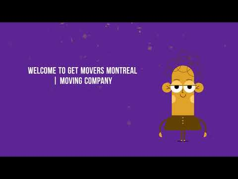Get Movers in Montreal QC